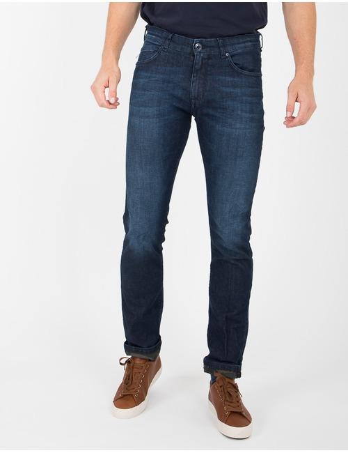 Mason's slim fit jeans blauw
