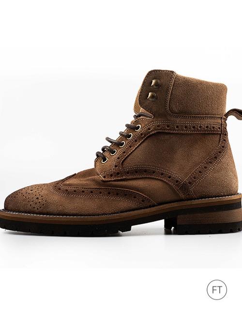 Ctwlk laarzen beige bruin