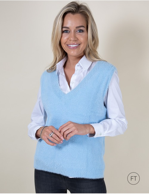 Senso pull blauw