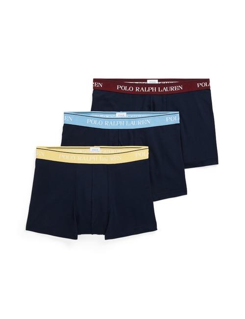 Stretch Katoen Boxers 3-Pack Donkerblauw