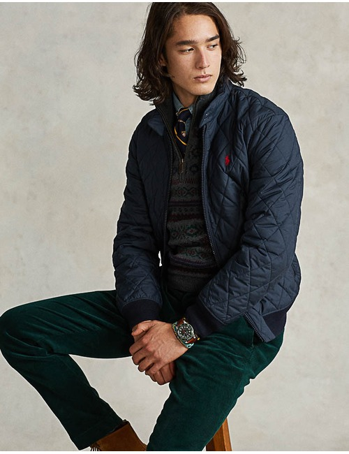 Standard fit Water-repellent Quilted Jacket
