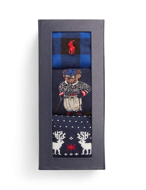 Kousen Gift Pack 3-Piece Blauw