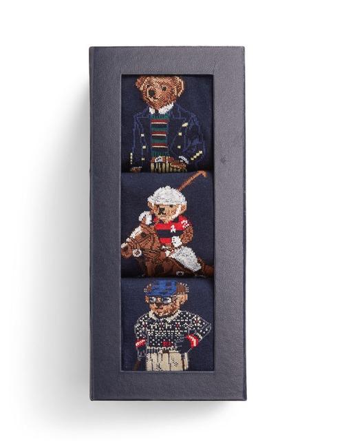 Kousen Gift Pack 3 Piece Blauw
