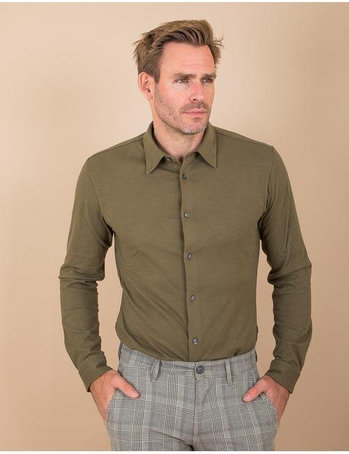 Boss Casual hemd groen