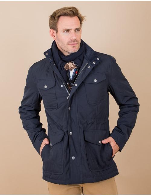 Hackett jas blauw