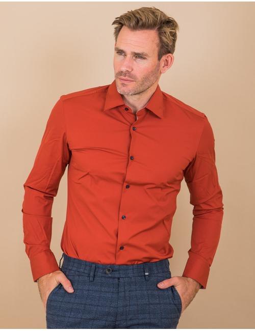 Boss hemd rood